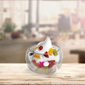 Coppa con frutta
