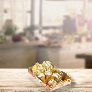 Mini crêpe albicocca